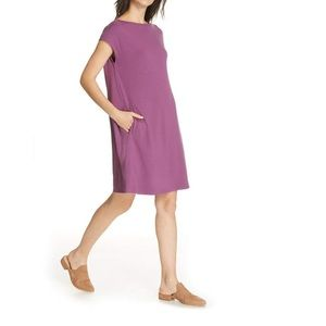 Eileen Fisher Curan Bateau Dress